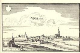 Wildeshausen, Kupferstich von 1647 (aus: wikipedia.org, gemeinfrei)