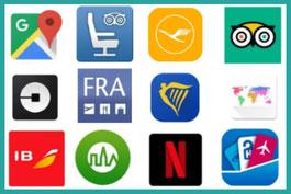 Apps, Reisen