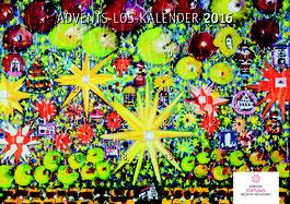 Foto: BRN; Advents-Los-Kalender 2016 der Bürgerstiftung Region Neumarkt, Motiv gemalt von Johannes Berschneider
