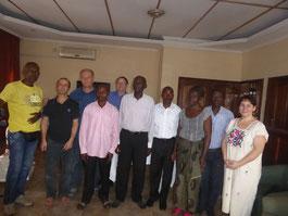 Besuch bei SD Kongo zum Projektstart Januar 2016