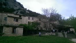 Buoux, klettern, Südfrankreich, Auberge des Seguins