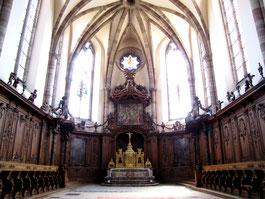 choeur de l'église de Marmoutier