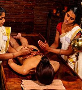 Промасливание тела - аюрведический массаж - Абьянга