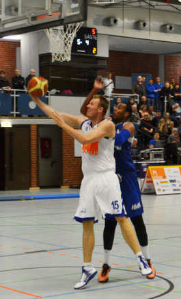 Jan-Christian Both erzielte ein Double-Double. (Foto: Fromme)