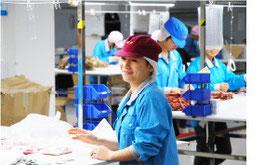 ▶ 生産効率や品質が安定する「検品」
