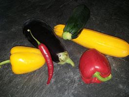 Gemüse für Gemüsepfanne