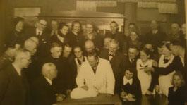 """Tischbewertung 1944 in der Gastwirtschaft """"Zum Goldenen Löwen"""""""