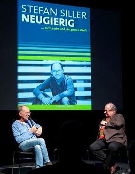 Lesung im Theaterhaus Stuttgart (hier mit Vincent Klink)