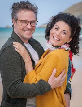 Liza Tzschirner und Daniel Aichinger (Foto: obs / ZDF / Jon Ailes)
