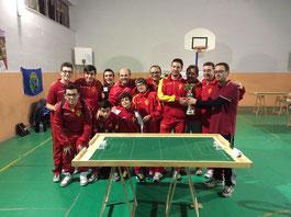 Il Messina Table Soccer premiato con la coppa