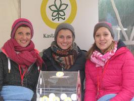 v.l.: Erika Gretschmann, Sarah Haurand und Carolin Budweg