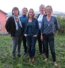 Vorstand Wält Lade Rothenburg: (v.l.n.r.) Beatrice Isaak von Ah, Regula Dünki, Barbara Bussmann, Rita Wigger, Doris Burkhalter