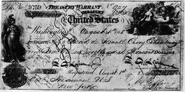 der wertvollste Scheck der amerikanischen Geschichte