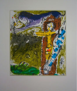 Marc Chagall, litho M.196 uit Lassaigne Chagall 70 (1957)