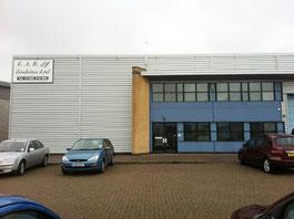 EAR 社はイングランド東部のケンブリッジシャー(州)にあります。