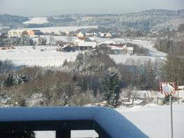 Schnee über Rammersberg