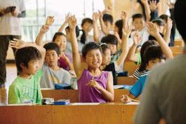 【生徒と対話する出張授業】