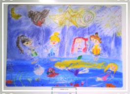 安曇野松本子どもこころアート教室マウア 世界児童画展入選作品