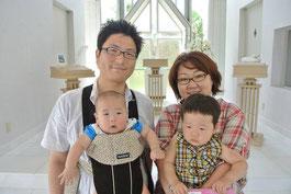 愛する家族と幸せいっぱいです♪♪