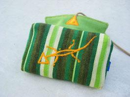 Tabakbeutel Green Gecko Slim Format