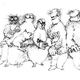 Erich Stahl - Zeichnung