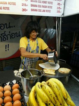 Die besten Bananenpfannkuchen
