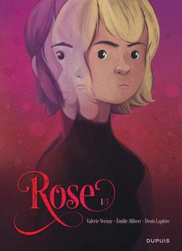 Rose de Denis Lapière et Emilie Alibert - Editions Dupuis