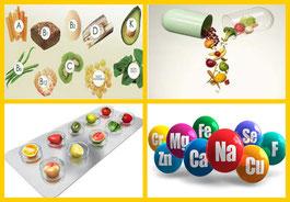 Vitaminas y minerales Nutrición Ortomolecular Herbolario Alquimista Arrecife Lanzarote