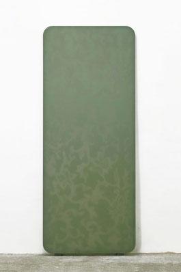 Hermaphroditus I  2001  Kunstharz, Steinmehl, Ölfarbe auf Leinwand  210 x 85 cm
