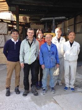 名古屋大学大学院環境学研究科地球環境科学専攻地球惑星科学系御一行様来社