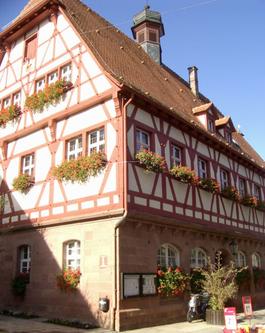 Foto: Das alte Rathaus in der Hauptstraße