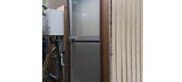 浴室ドアのガラス割れ修理