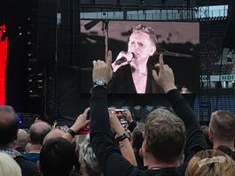 Martin Gore (Depeche Mode) in Hannover, 12. Juni 2017 / Foto: Dunkelklaus