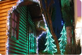 La casa di Babbo Natale a Melegnano