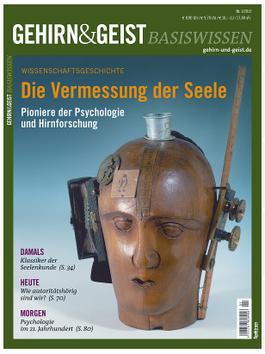 """Titelseite """"Gehirn und Geist""""-Sonderheft zur Geschichte der Psychologie (Spektrum-Verlag)"""