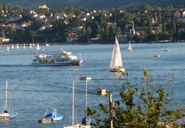 See,Zürichsee, Schiff, Segler
