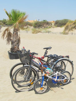 Velo, Sand, Fahrrad