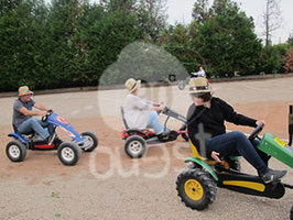 KARTS A PEDALES (SHUTTLES)