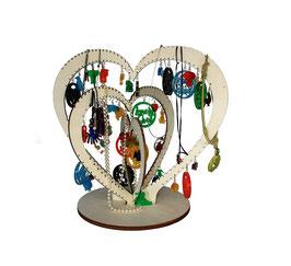 Arbre bijoux bois
