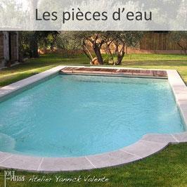Les pièces d'eau en pierre - Piscine - Fontaine - Bassin - Toute en Pierre - Var