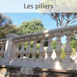 Les piliers en pierre - Toute en Pierre - Var