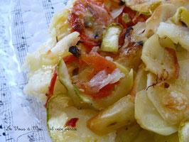 24 février 2009 - gratin de légumes d'été