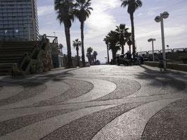 28 декабря 2009 ИЗРАИЛЬ г Тель-Авив дорожка вдоль набережной