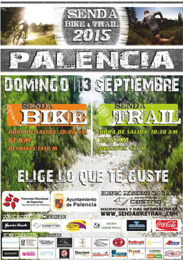 II SENDA BIKE TRAIL - PALENCIA, 13-09-2015