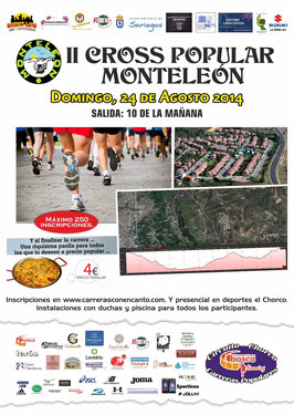 II CROSS POPULAR MONTELEON - Carbajal, 24-08-2014