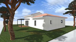 plan maison 105 m²