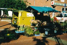 Wochenmarkt in Munster 1992