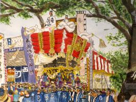 百舌鳥八幡秋祭(F6号)KKさん