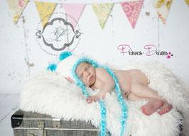 Neugeborenen Mädchen Baby Strick Mütze, Glitzer Mütze, Stricken Beanie, Zipfelmütze, Bommebütze, Bär, Teddy Accessoires