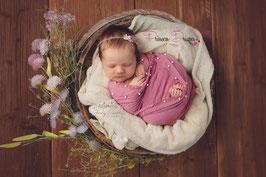 Neugeborenen Bbaby Perlen Wrap,Tuch,Pucktuch, Musselin Tuch, Wrapppen,pucken,Neugeborenen Baby Haarband Outfit Set, feine wunderschöne Tücher für die Neugeborenenfotografie,Fotoshooting